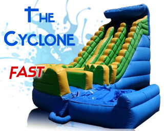 Cyclone slide water slide