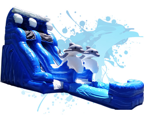 Inflatable Water Slide waterslides and inflatable water slide combo rentals in gilbert