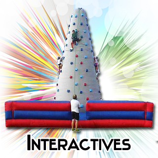 inflatable rock wall joust boxing ring