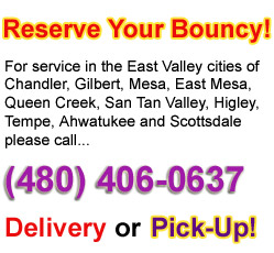 Inflatables delivery or pick-up service