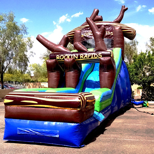 Inflatable Water Slide Az: Rockin Rapids Inflatable Water Slide Gilbert, Mesa