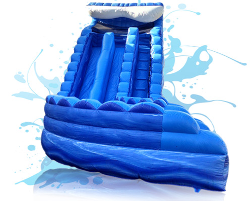 Tsunami Double Waterslide