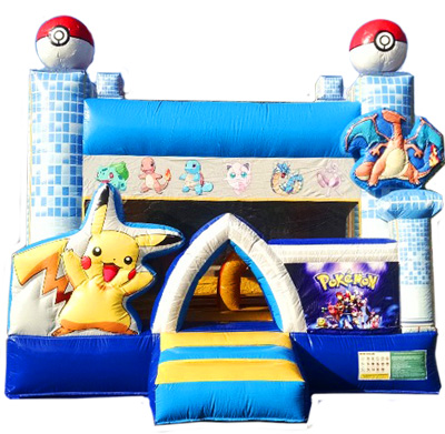 Pokemon Deluxe Jumper Bouncer Inflatable Bounce House